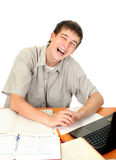 Cheerful Student Stock Photography