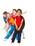 Cheerful students Stock Photo