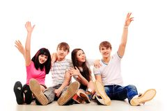 Cheerful students Royalty Free Stock Photography