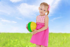 Cheerful summer holiday Royalty Free Stock Photography