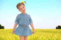 Cheerful summer holiday Stock Images