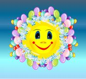 Cheerful sun, Stock Images