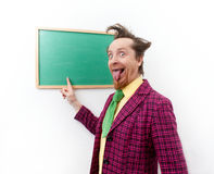 Cheerful teacher Stock Photography