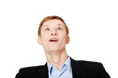 Cheerful teen boy Stock Image