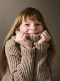 Cheerful teenage girl Royalty Free Stock Photos