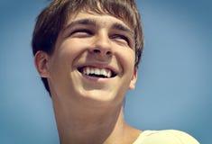 Cheerful Teenager closeup Stock Image