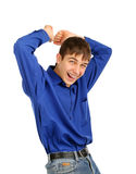 Cheerful Teenager Stock Image