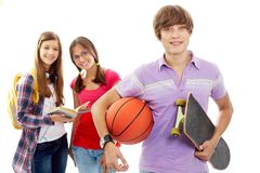 Cheerful teenager Royalty Free Stock Images