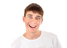 Cheerful Teenager Portrait Royalty Free Stock Images