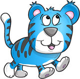 Cheerful Tiger Vector Stock Images