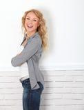 Cheerful trendy girl Stock Photo