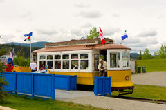 A cheerful  trolley at whitehorse Stock Images
