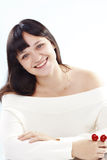 Cheerful woman Stock Images