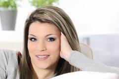 Cheerful woman Stock Image