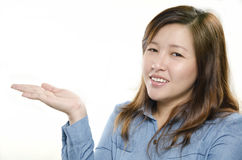 Cheerful woman Stock Photo