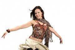 cheerful woman Στοκ Εικόνα