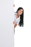 Cheerful woman. Royalty Free Stock Photography