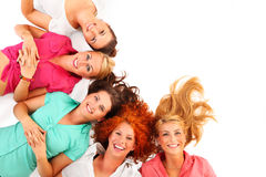 Cheerful women Stock Image