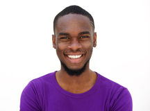 Cheerful young african american guy Royalty Free Stock Photography