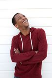 Cheerful young african american man Stock Images