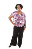 Cheerful Young African American Woman Royalty Free Stock Image