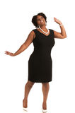 Cheerful Young African American Woman Expression Royalty Free Stock Photo
