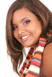 Cheerful Young African American Woman Portrait Royalty Free Stock Photos