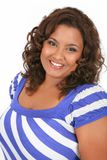 Cheerful Young African American Woman Portrait Stock Images
