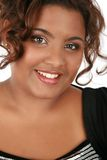 Cheerful Young African American Woman Portrait Stock Image