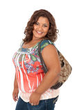 Cheerful Young African American Woman Portrait Royalty Free Stock Photo
