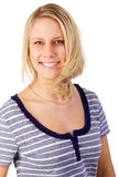 Cheerful young blonde woman Royalty Free Stock Image