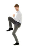 Cheerful young businessman Stock Image
