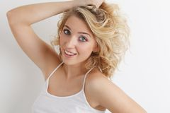 Cheerful young girl Royalty Free Stock Photography