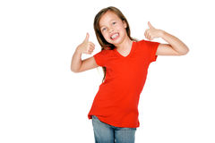Cheerful young girl Stock Photo
