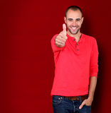 Cheerful young man Royalty Free Stock Image