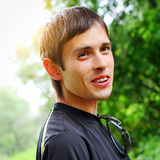 Cheerful Young Man Stock Images