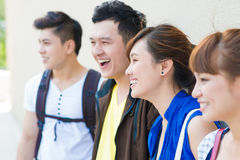 Cheerful young people Royalty Free Stock Photo