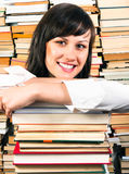 Cheerful young student Stock Image