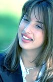 Cheerful Young Woman Royalty Free Stock Photo
