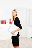 Cheerful young woman Stock Photography