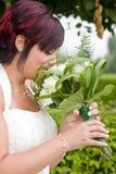 Cheerfull bride Royalty Free Stock Image