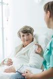 Cheerfulness και ιατρική υγειονομική περίθαλψη στοκ εικόνες