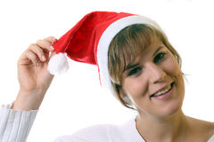 Cheering For Christmas Stock Images
