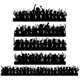Cheering Crowd Stock Image