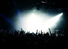 Free Cheering Crowd At Concert Royalty Free Stock Photography - 6671087