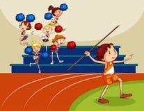 Cheering Stock Image