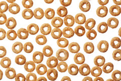 Cheerios cereal background Royalty Free Stock Photography