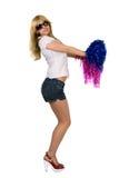 Cheerleader royalty-vrije stock foto's