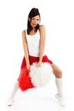 Cheerleader Lizenzfreie Stockfotos