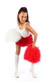 Cheerleader Royalty-vrije Stock Afbeeldingen